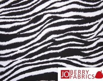 Zebra Print Fabric