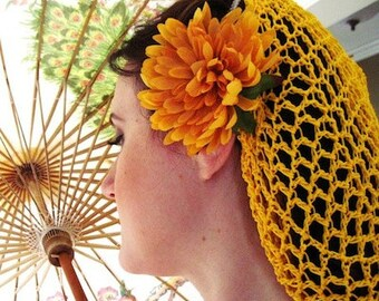 Hair Snoods in Every Color You Can Imagine