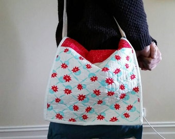 Handcrafted bag.
