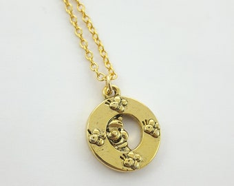 Winnie the Pooh Charm Necklace