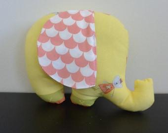 Plush Elephant with big ears