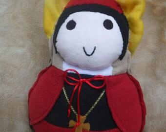 Saint Doll St.John Cardinal Newmann Soft Catholic Religious Toy