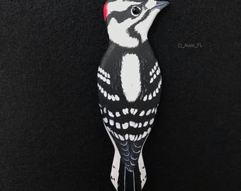 Downy Woodpecker Magnet