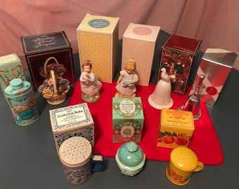 Avon Collectible Talcs & Figurines - PRICE REDUCED!!!