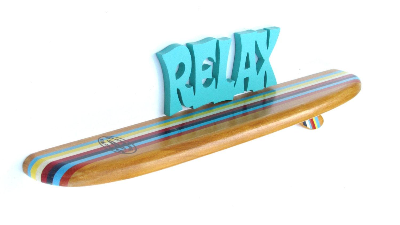 mini planche de surf tag re 18 pouces rayures classiques. Black Bedroom Furniture Sets. Home Design Ideas