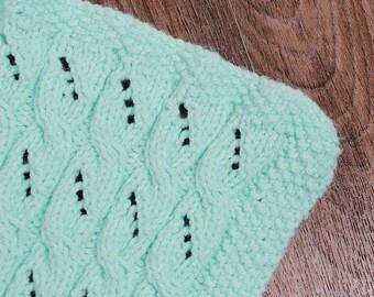 KNITTING PATTERN For Lullabuy Baby Blanket, Afghans PDF 376 Digital Download