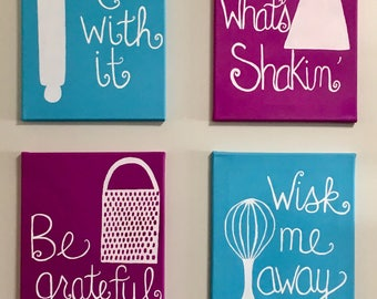 READY MADE Kitchen Canvases