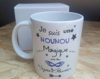Nanny year end gift mug