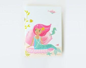 NOTEBOOK Sketchbook Journal - mermaids