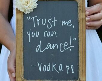 Framed Chalkboard - Wedding Chalkboard - Chalkboard Prop - Chalkboard Sign - Birthday Chalkboard - Wedding Chalkboards