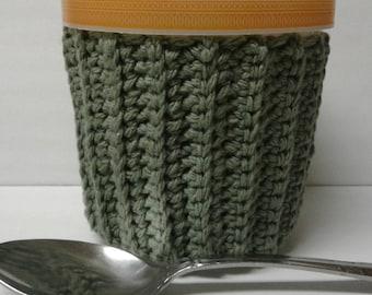 Sage Green Ice Cream Sweater Cozy