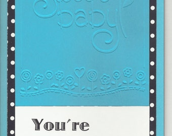 Handmade Greeting Card - Mother's Day - Embellished & Embossed