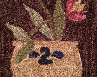 Punch Needle Pattern ~ SpringGlaze