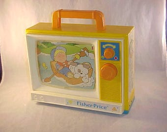 1987 Fisher Price Toys Musical Television