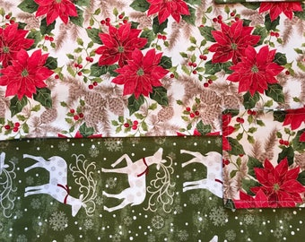 Christmas placemats with matching coasters