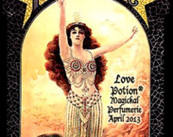 THREEBIES! Lot #510 - Ionia, Breakfast in Bed, Totem: Lion - Love Potion Magickal Perfumerie