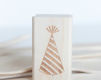 Party Hats Stamp