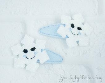 Snowflake Clippy Set
