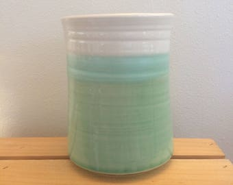 Utensil Holder, Gift for Cook, Spoon Jar, Spoon Crock, Kitchen Crock