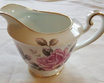 Vintage Noritake Toki Kaisha Creamer Rose Pattern