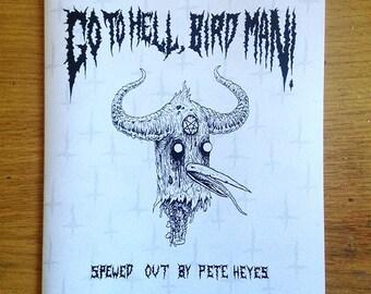 Go to Hell, Bird Man! - comic zine