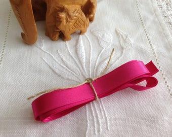 Pink GIRLY satin MOKUBA Ribbon