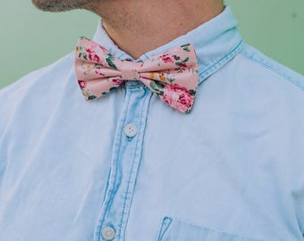 Floral Bow ties, 8 colors available