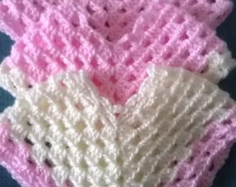 Crochet Baby Girl Poncho, Crochet Baby Girl Cape, Crochet Newborn Poncho