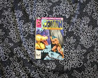 Conan The Barbarian #126 Vintage Marvel Comic Book. 1981 Barbarian Fantasy Bronze Age Comic. 80s Conan Barbarian Comic