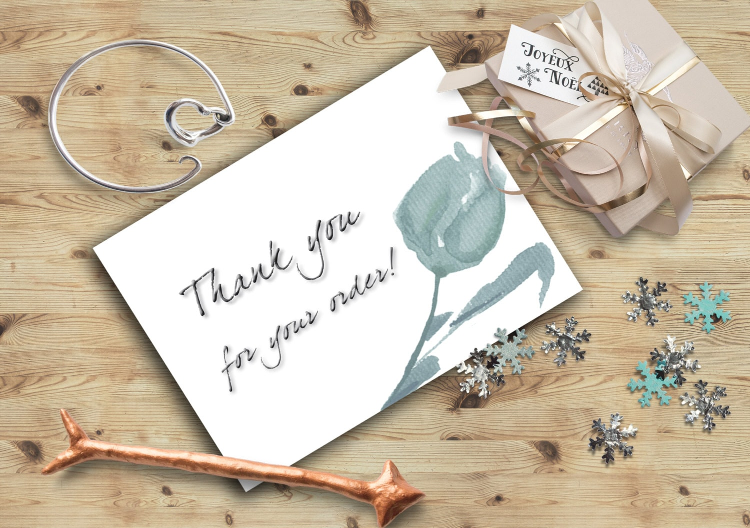 Thank for your purchase card Thank you for your order note