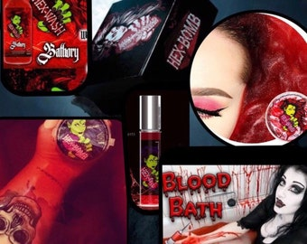 Bloody hell hexbox hexbomb bloodbath giftset