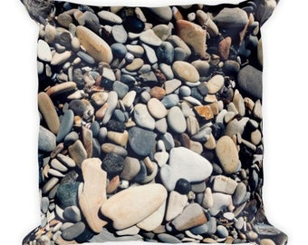Soft as Stones A - pebble pillow - Home Decor Pillow Covers - 2 sizes available