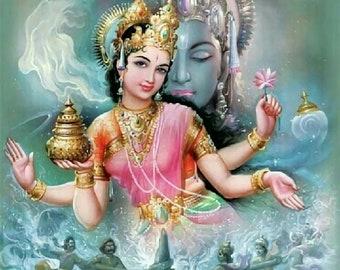 Amrita Food of Hindu Gods Perfume Oil - Vanilla, Massoia, Jasmine Sambac, Champak, Dried Fruits, Ylang Ylang, Frangipani, Tuberose, Natural