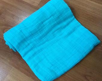Blue Swaddle Blanket