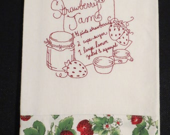 Strawberry Jam Tea Towel