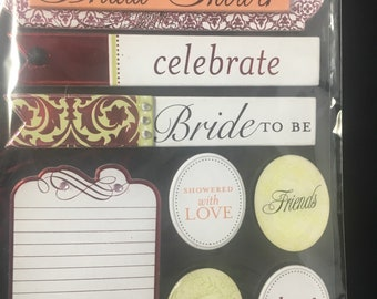 Bride to Be Me & My Big Ideas Soft Spoken Embellishments