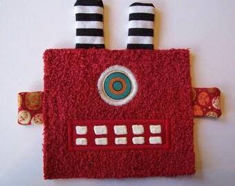 One Eye Red Robot Guy