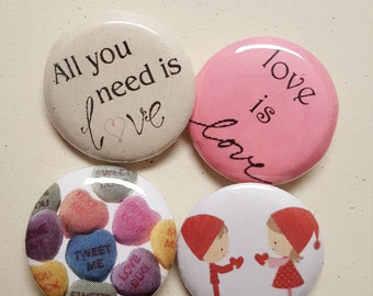 Love buttons (valentine's)