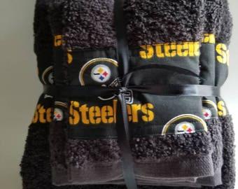 Pittsburgh Steelers Bath Set