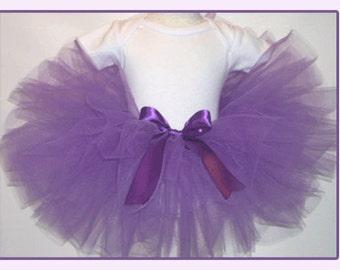 Purple Tutu, Purple Baby Tutu, Purple Toddler Tutu, Purple Girls Tutu, Bright Purple Tutu, Purple Tutu Babies-Girls 6, Purple Custom Tutu