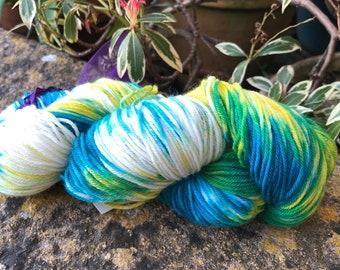 "100grms hand painted merino/nylon yarn ""Jacsons yarn"""