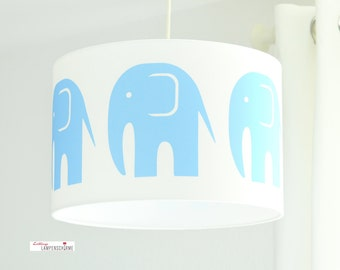 Lampshade, children lamp, Elephant
