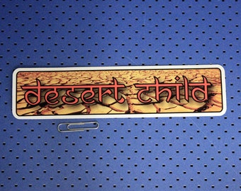 Desert Child Bumper Sticker