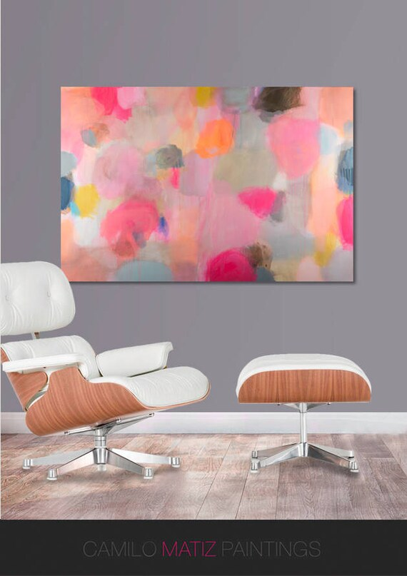 Canvas art Abstract painting abstract art canvas original
