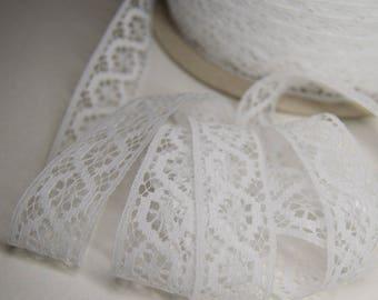 "Trim lace ""Ornament"" 2cm white (m)"