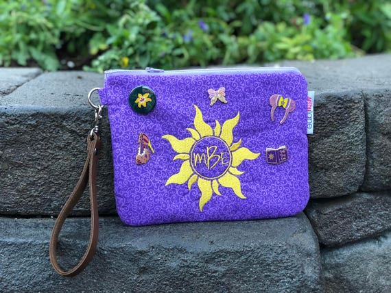 Tangled Inspired Disney Wristlet