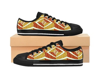 Vibe Sneakers Gold Orange