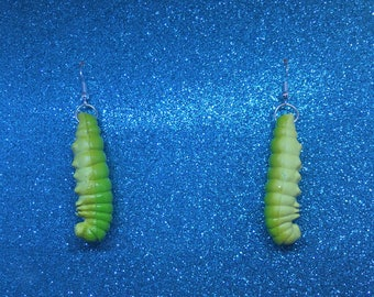 Caterpillar Earrings