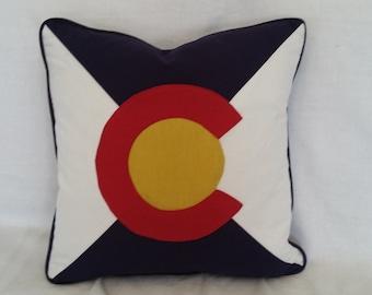 Colorado Flag Pillow