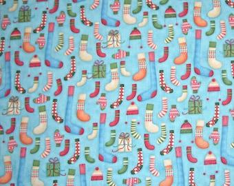 MAGASIN fermeture vente - fin de boulon - jeux d'hiver, Grange Buggy, Henry Glass & Co, 100 % coton courtepointe en tissu, Noël, bas, bleu à courtepointe